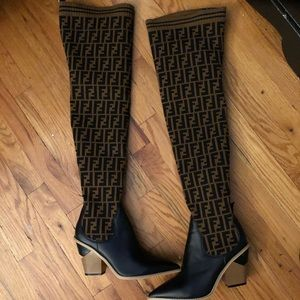 Fendi Above The Knee Boots